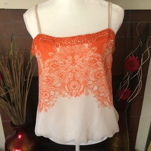 Anthropologie One September Cami/Tank Top Size L